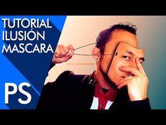 Tutorial Photoshop: Efecto Ilusión mascara - http://graphixdragon.com/tutorial-photoshop-efecto-ilusion-mascara/