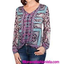 Lucky Brand Women's Moroccan Border Blouse Review - http://womensfashionista.com/lucky-brand-womens-moroccan-border-blouse-review-2/ #Blouse, #BlousesForWomen, #Border, #Brand, #Lucky, #Moroccan, #Review, #Womens #blouses