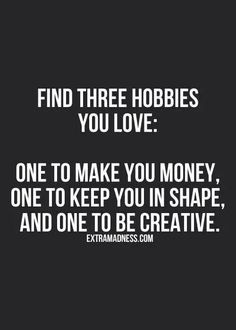 Find Three Hobbies