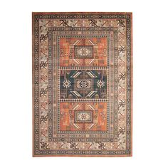 The Aztec Area Rug by Sams International adds a designer look to your living space. In a rich chocolate brown palette, this soft and silky rug features a tribal inspired pattern with stain and shed resistant yarns, bringing warmth and comfort to any room. Aqua Area Rug, Orange Area Rug, Orange Rugs, Colorful Tapestry, Rug Sale, Carpet Runner, Modern Decor, Modern Furniture, Modern Design