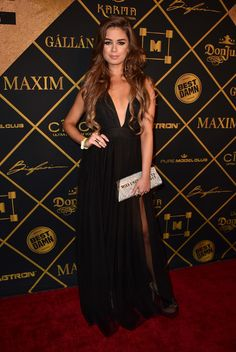 Miss United States 2015 Summer Priester attends the Maxim Hot 100 Party at the Hollywood Palladium on July 30, 2016 in Los Angeles, California.