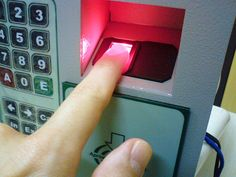 A major application of Biometrics is fingerprint recognition. Here, a digital image of your fingerprints is captured using a scanner which is then used as an authentication key instead of regular passwords. Atm Card, Aadhar Card, Accounting Education, Biometric Devices, Biometric Authentication, Fingerprint Recognition, Finger Print Scanner, Access Control, Sales And Marketing