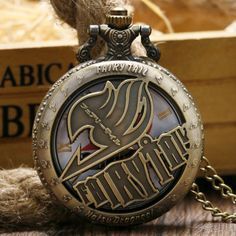 Fairy Tail Anime Pocket Watch - OtakuForest.com