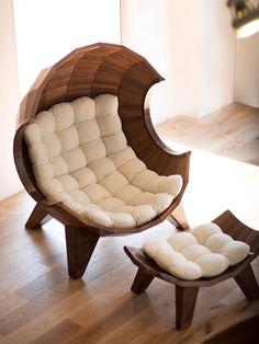 Stylish Segment Chair By Sae Rom Yoon