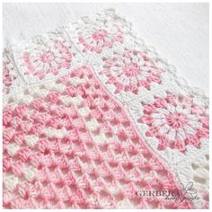 Interesting to trim in granny squares