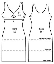 Small evening dress :: We are Sewing for Dolls
