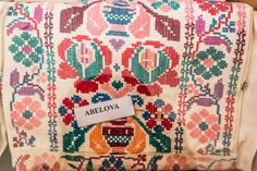"""pocarovna: """"Embroidery madness - photos of embroidered men´s shirts of Slovakia, Novohrad area (the name tag labels the village name) """" Folk Costume, Costumes, Folk Embroidery, Quilts, Dress Up Clothes, Fancy Dress, Quilt Sets, Log Cabin Quilts, Quilting"""