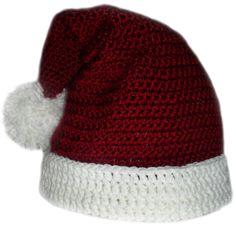 Santa Claus Hat - 5 Sizes - $4.95 crochet pattern