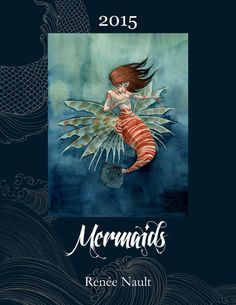 Renee Nault does beautiful mermaids among many other things (comics, illustration...).  http://reneenault.tumblr.com