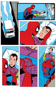 The Death of Harry Osborn (from Spectacular Spider-Man #200)