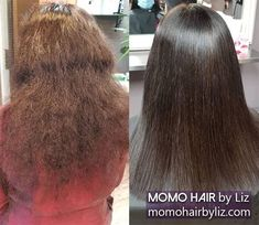 Love your new hair! Japanese Hair Straightening, Best Hair Salon, Japanese Hairstyle, Perms, New Hair, Kinky, Hair Color, Curly, Hairstyles