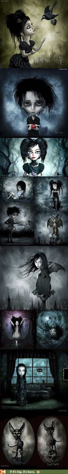 The Gothic Art of Toon Hertz – 25 Bewitching Examples at: http://www.ifitshipitshere.com/the-gothic-art-of-toon-hertz/