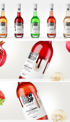 Slow Drop Syrup (Concept) Packaging by Stas Neretin