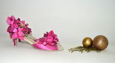 Sytě růžové svatební boty -  taneční styl úprava pro běžné nošení venku. Sýto ružové svadobné topánky - v tanečnom štýle s úpravou pre bežné nosenie vonku, svatební obuv, společenksá obuv, spoločenské topánky, topánky pre družičky, svadobné topánky, svadobná obuv, obuv na mieru, topánky podľa vlastného návrhu, pohodlné svatební boty, svatební lodičky, svatební boty se zdobením,topánky pre nevestu, ružové, cyklaménové svadobné topánky Shoes, Fashion, Zapatos, Moda, Shoes Outlet, La Mode, Shoe, Fasion, Footwear