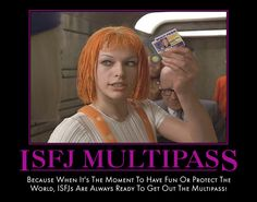 """Because I always say """"multipass"""" when I go into work..."""