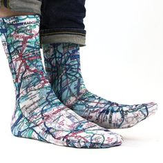Sublimation printed socks made in Manchester, UK.  Since 2014 we have been producing high quality, printed socks. Our socks are printed by hand -