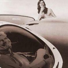 David Bowie And His 1961 Jaguar XKE