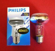 10 x Philips Reflektor Strahler Spot NR63 R63 E27 40 W 40W Watt NEU!!