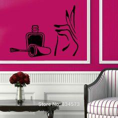 Resultado de imagen para decoracion en paredes para salones de belleza