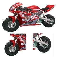 Red-24V-15-MPH-electric-street-motorbike-e-motorbike-racing-motorcycle