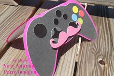 Party Animals' Party Design: Video Game Controller Card