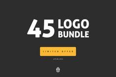 45 Logo Bundle - Limited offer by SteveGerald on Creative Market