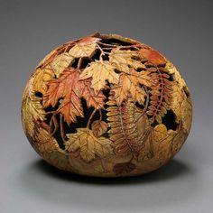 Gourd art!