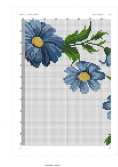 Cross Stitching, Cross Stitch Embroidery, Cross Stitch Patterns, Prayer Rug, Diy And Crafts, Kids Rugs, Crochet, Daisies, Towels