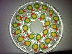 christmas wreath deviled eggs - Christmas Deviled Eggs