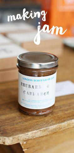 Try London Borough of Jam's rhubarb and cardamon preserve