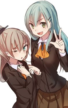 Suzuya and Kumano
