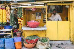 Market Kerala, India