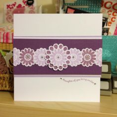 Purple Cat Crafts: Show me, show me! Purple Cat, Cat Crafts, Show Me, Stampin Up, Cards, Stamping Up, Maps, Playing Cards