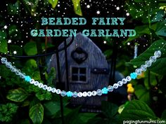DIY Fairy Garden Welcome Sign! Such a great gardening project for kids!