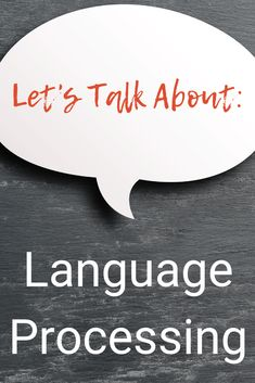 Learn about the characteristics of language processing disorder in young children and strategies to help children having trouble Auditory Processing Activities, Speech Therapy Activities, Language Activities, Sensory Processing, Speech Language Pathology, Speech And Language, Language Development, Child Development, Expressive Language Disorder