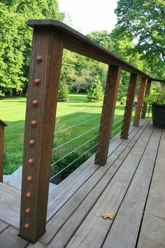 From black radiance and wrought iron railings to vinyl and American cable railings, we have the highest-quality materials available to help secure your brand new deck. If you're not sure what style or design is right for you, contact Decks R Us today, and our professionals will be more than happy to walk you through your options.