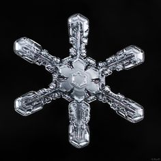 Let's keep it simple today with a snowflake that would only grow under stable…