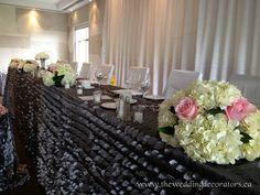 Wedding Decorating, wedding decorators, banquet decor, head table & cake table decor, wedding decorators, wedding decorating, wedding decora...