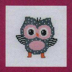 Grey Owl - Cross Stitch Kit