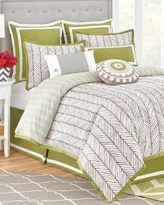King+Arrows+4-Piece+Comforter+Set+by+Westpoint+Home+at+Neiman+Marcus.