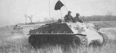 The Kangaroo was an answer to the simple problem of getting troops to the frontline safely, and conversions mostly used outdated vehicles as a basis. Sherman Tank, Tank Destroyer, Panzer, Armored Vehicles, World War Ii, Troops, Military Vehicles, Wwii, Kangaroo