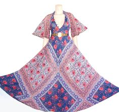 70s cotton gauze Adini festival dress - one size - xs s m l by JoieDeVivreVintage on Etsy https://www.etsy.com/listing/466313721/70s-cotton-gauze-adini-festival-dress