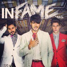 Parte de nuestra portada! Ya puedes disfrutar enteramente de INFAME Magazine a través de link: http://issuu.com/infamemag/docs/infame_magazine. Nuestra expectativa es que la disfrutes mucho. #modahombre #dandys #diseño #estilo #modelos