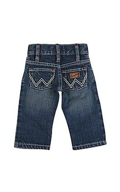 Wrangler® All Around Baby™ Boy's Tractor Patch w/ White W Pocket Jeans | Cavender's Boot City