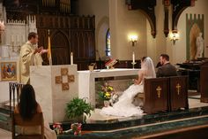 Catholic Ceremony in Poughkeepsie, NY