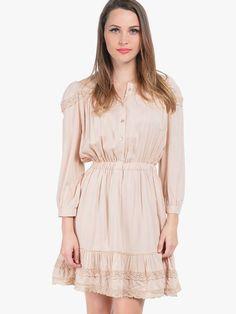 9-beige dresses Fashion Corner, Beige Dresses, Blouse, Long Sleeve, Sleeves, Stuff To Buy, Tops, Women, Long Dress Patterns