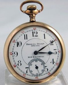 SWISS - BEHRING STRAIT SPECIAL 16 size open faced Pocket Watch