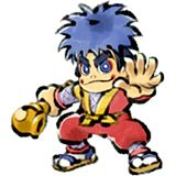 Goemon (Ganbare Goemon) - Konami 3rd party newcomer from the Ganbare Goemon series. Takes from a wide array of Goemon games. Light class character