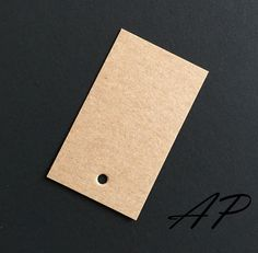 """100 pcs of Blank Design Brown Kraft Card Hang Tag for Accessories, Garment(clothing) and Jewelry 30mm X 50mm(1 3/16""""X2"""") by DIDOAccssorySupplies on Etsy https://www.etsy.com/listing/231423222/100-pcs-of-blank-design-brown-kraft-card"""