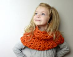 Christy - Crochet PATTERN ONLY - Childrens Cowl Neckwarmer. $5.00, via Etsy.